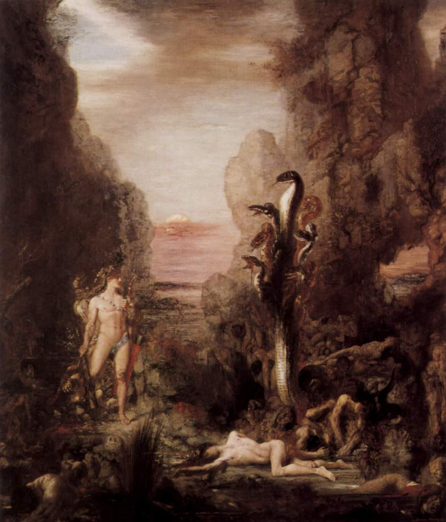 Gustave Moreau - Beast of Revelation